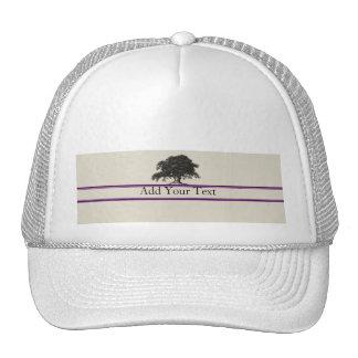Oak Tree Plantation in Purple Cap