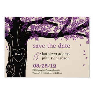 Oak Tree Save The Date Card 13 Cm X 18 Cm Invitation Card
