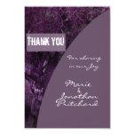 Oak Tree Thank You wedding 9 Cm X 13 Cm Invitation Card