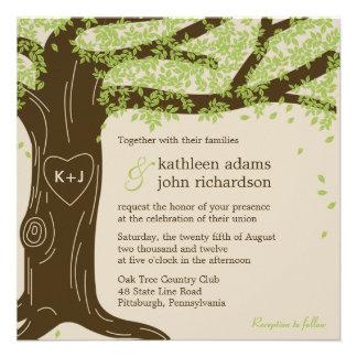 Oak Tree Wedding Invitation Personalized Announcements