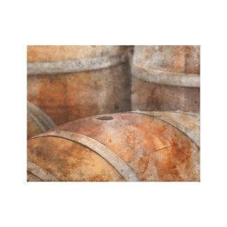 Oak Wine Barrel Canvas Print