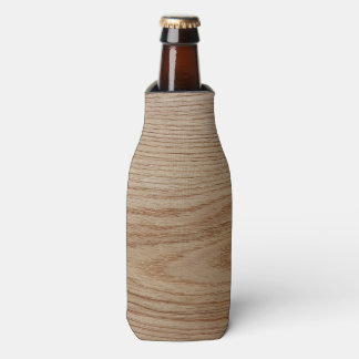 Oak Wood Grain Look Bottle Cooler