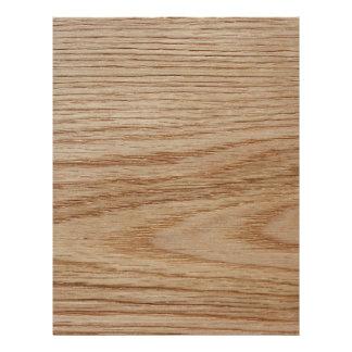 Oak Wood Grain Look 21.5 Cm X 28 Cm Flyer