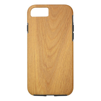 Oak wood grain texture iPhone 7 case