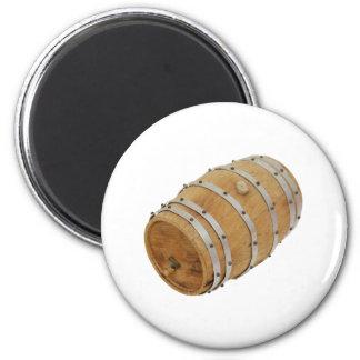 OakBarrelSide030609 copy 6 Cm Round Magnet