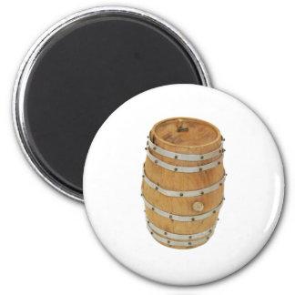 OakBarrelUp030609 copy 6 Cm Round Magnet