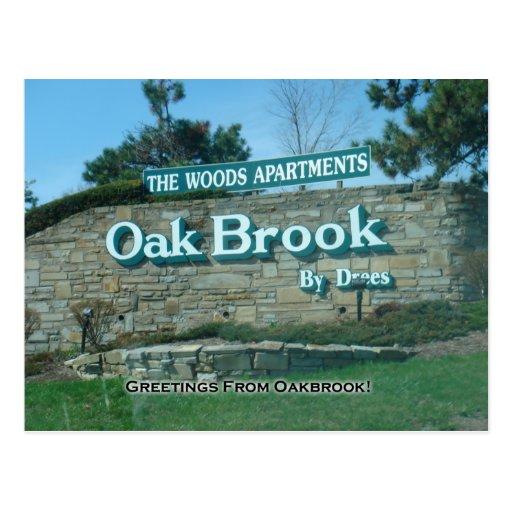 Oakbrook Postcard