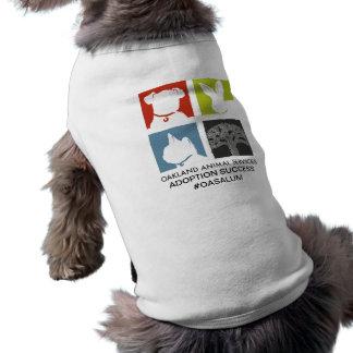 Oakland Animal Services Dog Shirt- OASALUM Shirt