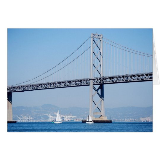 Oakland Bay Bridge Card