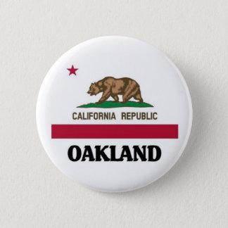 Oakland California 6 Cm Round Badge
