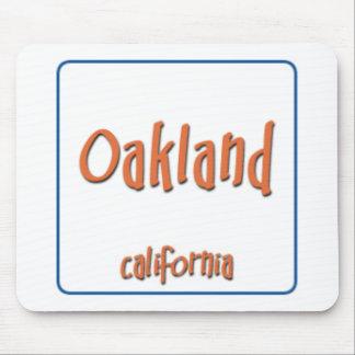Oakland California BlueBox Mouse Pad