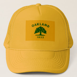 Oakland, California Flag Trucker Hat