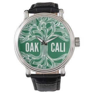 Oakland California Oak Watch design