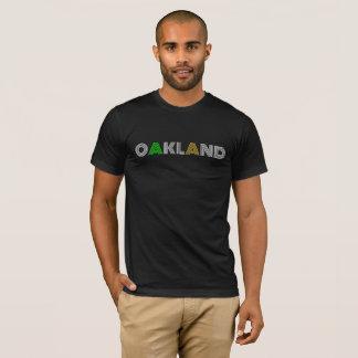 OAKLAND California: Simple, Elegant, Baseball. T-Shirt