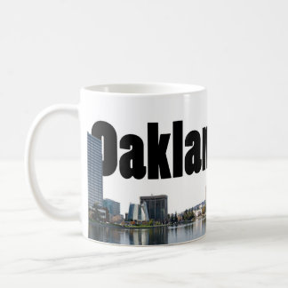 Oakland California with Oakland in the Sky Coffee Mug