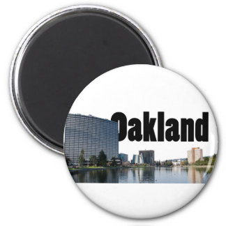 Oakland California with Oakland in the Sky Magnet