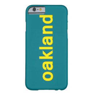 Oakland Cell Phone Case Barely There iPhone 6 Case