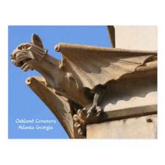 Oakland Cemetery, Atlanta GA, Postcard