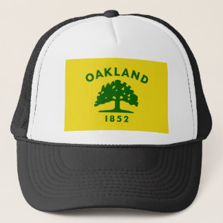 Oakland Flag T-Shirts Trucker Hat