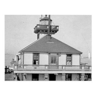 Oakland Harbor Lighthouse Postcard