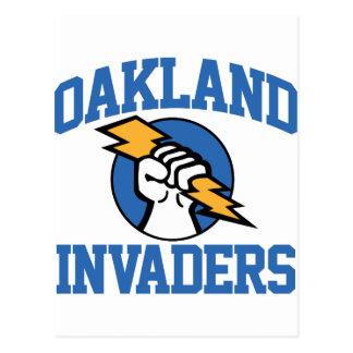 Oakland Invaders Postcard