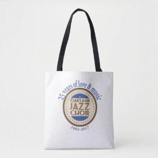 Oakland Jazz Choir 25th Anniversary Tote