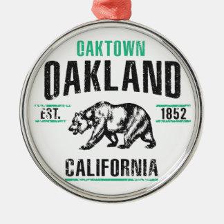 Oakland Metal Ornament