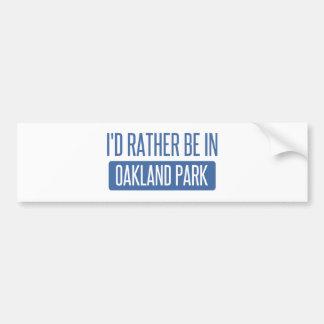 Oakland Park Bumper Sticker