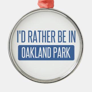 Oakland Park Metal Ornament