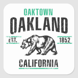 Oakland Square Sticker