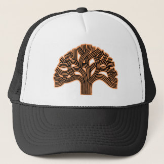 Oakland Tree Orange Haze Trucker Hat