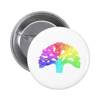 Oakland Tree Rainbow Buttons