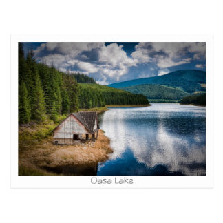Oasa Lake Postcard