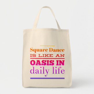 Oasis in daily life tote bag