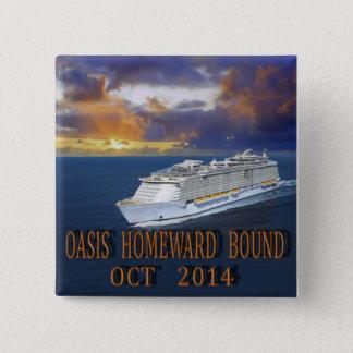 Oasis TA Oct 2014 15 Cm Square Badge