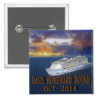 Oasis TA Oct 2014 15 Cm Square Badge