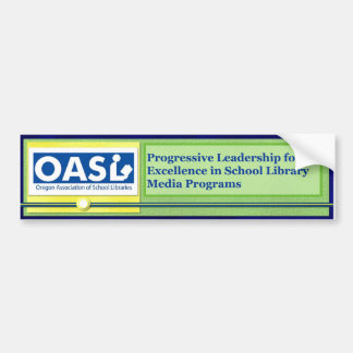 OASL Logo Motto Bumper Sticker