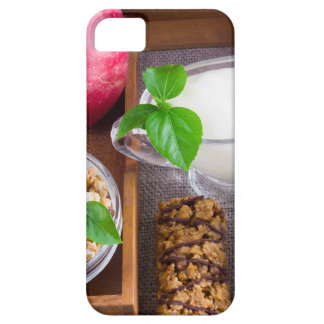 Oat cereal with nuts and raisins iPhone 5 covers