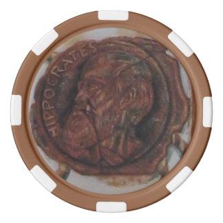 Oath of Hippocrates Poker Chips