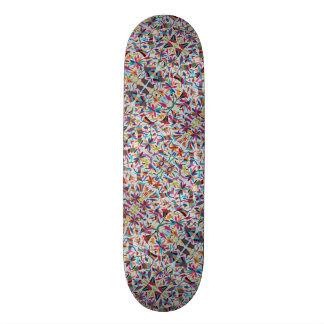 Oaxaca Mexico Mexican Mayan Hispanic Ethnic Boho 21.3 Cm Mini Skateboard Deck