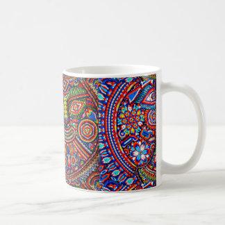 Oaxaca Mexico Mexican Mayan Tribal Art Boho Travel Coffee Mug