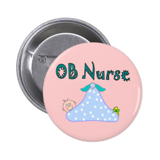 OB Nurse Gifts Baby in Blanket--Adorable Pin