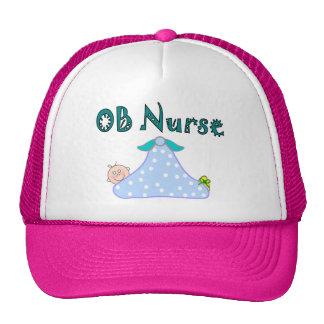 OB Nurse Gifts, Baby in Blanket--Adorable Trucker Hats