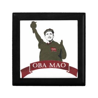 OBA MAO Obama + Statue of Liberty Parody Small Square Gift Box