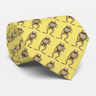 Obadiah Toad Attitude (Yellow) Tie