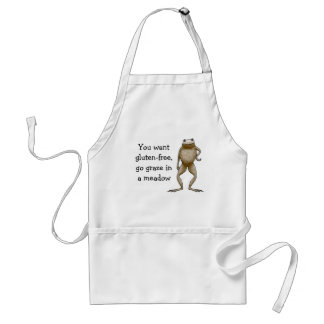 Obadiah Toad Gluten-Free Template Standard Apron