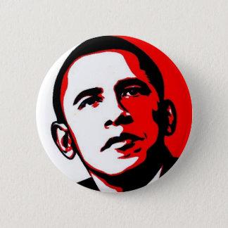 Obama 08 6 cm round badge