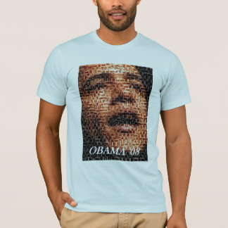 Obama 08 African-American Montage T-Shirt