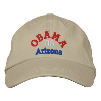 Obama '08 Arizona Hat Embroidered Hats