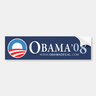 OBAMA '08 BUMPER STICKER